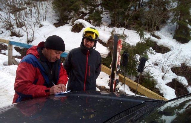 В горах Рахівщини шукали чергового туриста (ФОТО)